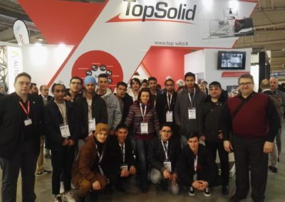 Visita stand Top Solid